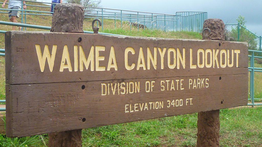 Waymea Canyon
